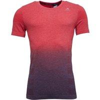 adidas Mens Primeknit Wool Dip-Dyed T-Shirt Red