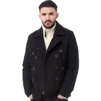 Bellfield Mens Metta Peacoat Jacket Navy