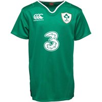 Canterbury Junior Ireland Home Pro Shirt Bosphorus