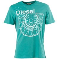 Diesel Mens Ballock T-Shirt Green