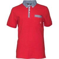 Duck and Cover Mens Redmond Polo Mars