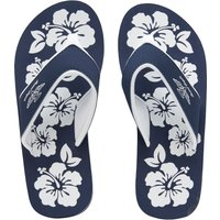 Board Angels Womens EVA Toe Post Sandals Navy/White