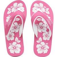 Board Angels Womens EVA Toe Post Sandals Pink/White