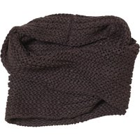 Board Angels Womens Knitted Snood Charcoal
