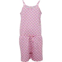 Board Angels Girls Daisy Print Jersey Playsuit Pink