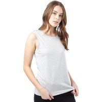 Jacqueline De Yong Womens Cane Lace Up Top Light Grey Melange