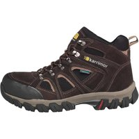Karrimor Mens Bodmin Mid Weathertite Hiking Boots Dark Brown