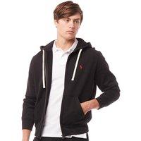 Polo Ralph Lauren Mens Athletic Fleece Hoody Polo Black