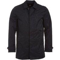 Lyle And Scott Vintage Mens Rain Embossed Jacket True Black