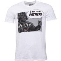 Star Wars I Am Your Father Mens T-Shirt White