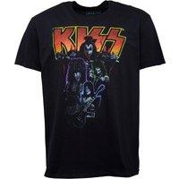 Kiss Mens T-Shirt Black
