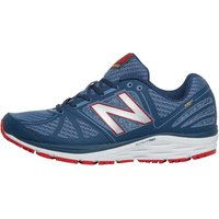 New Balance Mens M770 V5 Stability Running Shoes Grey/Red