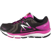 New Balance Womens W670 V5 Stability Running Shoes Black