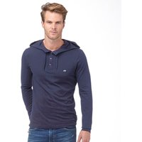 French Connection Mens Sneazy Hoody Marine Blue