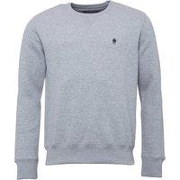 French Connection Mens FC Sweatshirt Light Grey Melange
