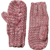 Onfire Womens Cable Mitten Pink