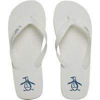 Original Penguin Mens Pacific Flip Flops White