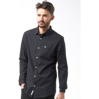 Original Penguin Mens Poplin Shirt Black