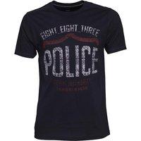 883 Police Mens Nacho T-Shirt Navy