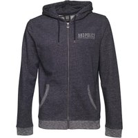 883 Police Mens Bladon Zip Up Hoody Navy