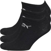 Puma Mens Three Pack No Show Socks Black