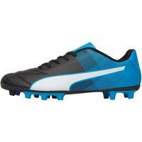 Puma Mens Adreno II FG Football Boots Black/White/Blue