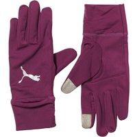 Puma Mens Performance Running Gloves Magenta Purple