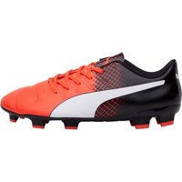 Puma Mens EvoPOWER 4.3 FG Football Boots Red/White/Black