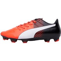 Puma Mens EvoPOWER 2.3 FG Football Boots Red/White/Black