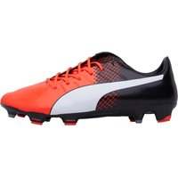Puma Mens EvoPOWER 1.3 FG Football Boots Red/White/Black