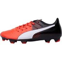 Puma Mens EvoPOWER 3.3 FG Football Boots Red/White/Black