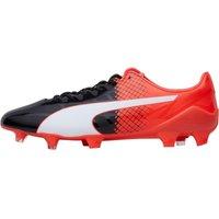 Puma Mens EvoSPEED SL Synthetic II FG Football Boots Black/White/Red