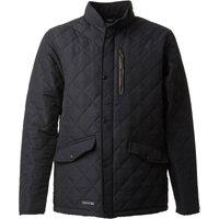 Trespass Mens Argyle Quilted Jacket Black