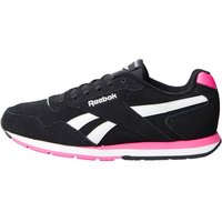 Reebok Womens Royal Glide Trainers Black/Pink/White