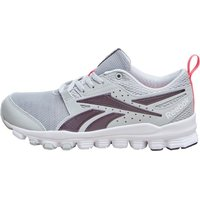 Reebok Womens Hexaffect Sport Trainers Steel/Maroon/White/Pink