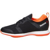 Reebok Womens Easytone 2.0 ATH Stylite Trainers Black/Peach/Red/White