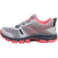 Reebok Womens Ridgerider Trail Trainers Grey/Black/Pink/White