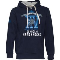 Front Up Rugby Mens First XV Rugby Hoody Navy Blue