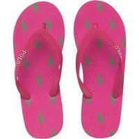 Ralph Lauren Junior Camino Flip Flops Pink