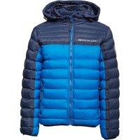 Ripstop Junior Aryan Quilted Jacket Mood Indigo/Electric Blue