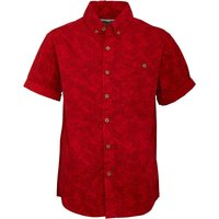 Ripstop Junior Pale Turn Up Sleeve Shirt Flame