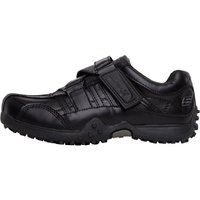 SKECHERS Boys Urban Track II Rage Velcro Shoes Black