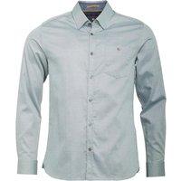 Ted Baker Mens Herules Long Sleeve Oxford Shirt Green