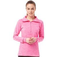 Under Armour Womens ColdGear Evo Cozy 1/2 Zip Top Rebel Pink