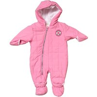 Converse Baby Girls Snowsuit Chuck Pink