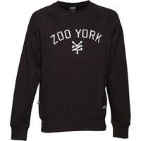 Zoo York Mens Bridge Logo Crew Neck Sweat Anthracite