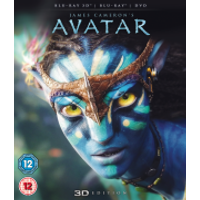 Avatar 3D (3D Blu-Ray, 2D Blu-Ray and DVD)