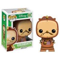 Disneys Beauty and the Beast Cogsworth Pop! Vinyl Figure