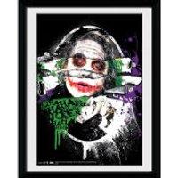 DC Comics Batman The Dark Knight Rises The Joker Torn - 8x6 Framed Photographic