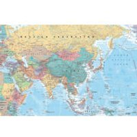 Asia and Middle East Map Maxi Poster (61 x 91.5cm)